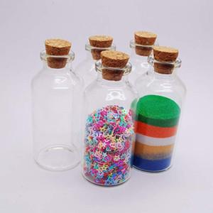 1 UNZE 30 ML 30X70X12, 5MM Leere Kork Stopper Glasflaschen Fläschchen Glas mit Kork Wishing Flasche Hochzeit Gunst DIY Dekoration Glas Favors Fläschchen