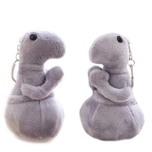12 cm lindo colgante llavero Tubby gris Blob juguete muñeca de peluche juguetes Homunculus Loxodontus juguetes para niños regalos llavero de felpa