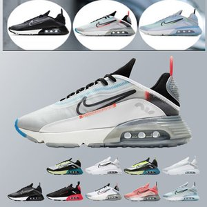 2019 new 2090 Maxes Running Shoes Mens Womens B30 2090s bred triple black white max sports sneakers trainers