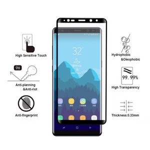 Full Cover 3D Tempered Glass for samsung Note9 8 Tempered Glass Screen Portectors for Samsung S10 e Glass Film