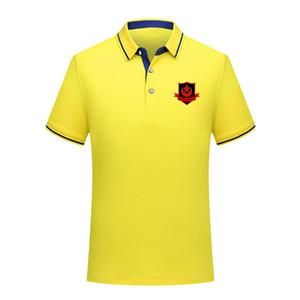 Drogheda United 2020 hommes à manches polo shirt de football de coton de mode court revers polo hommes de football maillot de formation de polo Hommes Polos