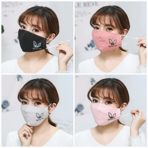 Caldi all'aperto Frangivento Bocca Maschera animali modello maschere antipolvere viso delle donne degli uomini Anti Saliva Sport respiratore Factory Direct 4JY E1