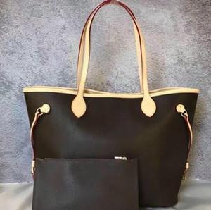set alta qulity nuova donne di modo borsa delle signore del progettista composito sacchetto della signora pochette spalla tote borsa donna portafoglio 2pcs / trasporto libero