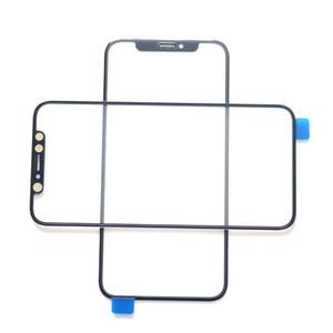 20pcs OEM Front-Außen Touch Screen-Glasobjektiv Ersatz Ersatzteilfrontglaslinse für iPhone X XS XR XSMax mit OCA-Trockenkleber
