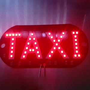 2X Taxi LED Car Windscreen Cab Indicator Lamp Sign Blue LED Windshield Taxi Light Lamp