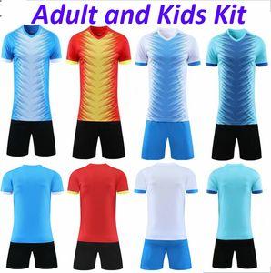 Homens ands Adultos Kit costume caçoa de Futebol Futebol pessoais Kits DIY Nome Número logotipo para uniformes da equipe de futebol camisas de futebol da Juventude
