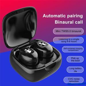 جودة عالية XG12 TWS بلوتوث 5.0 سماعة ستيريو لاسلكي سماعات HIFI الصوت الرياضة سماعات يدوي سماعة الألعاب