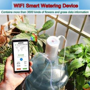 Jardim Automático Irrigação por Gotejamento Sistema WiFi App Controle Planta molhando dispositivo Planta Water Pump Temporizador para Jardim Pátio