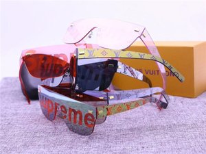 Straße Wasserzeichen-Sonnenbrille mit Kasten Polarisierende Männer Frauen Gläser Outdoor-Entspiegelung UV400 Fahren Reitsport-Sonnenbrille
