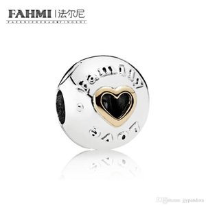 FAHMI 100% 925 Sterling Silver 1:1 Original 792110 Authentic Temperament Fashion Glamour Retro Safety Buckle Wedding Women Jewelry