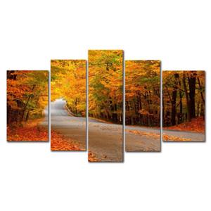 DYC 10084 5PCS Landscape Canvas Print Art