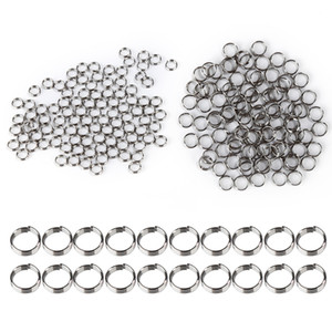 100 Teile / los Professionelle Silber Dart Shaft Edelstahl Ringe für Nylon Dart Shafts Dart Zubehör NY095
