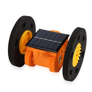 Handmade Science Technology Manufacture of Solar Energy Two-wheeled Balanced Vehicle Small Invention Material Children Experimen