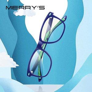 MERRY's Anti Blue Light Blocking детские очки мальчик компьютерные игровые очки девочка Blue Ray S7102