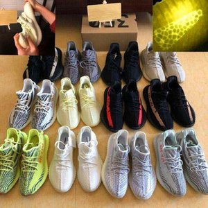 2020 Kanye West Eva-boosts Zebra White V2 Clay True Form Hyperspace cloud white Citrin 350 V2 shoes