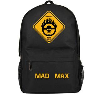 Mad Max Rucksack War Boy Tagesrucksack Danger Schultasche Game Packsack Druckrucksack Sportschultasche Outdoor-Tagesrucksack