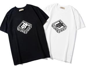 2018 여름 디자이너 T 셔츠 남성 탑스 POLO blous 편지 자수 T 셔츠 남성 의류 브랜드 반소매 Tshirt 여성 탑 S-2XL B117