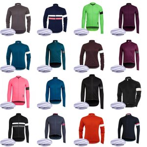 RAPHA team Cycling Winter Thermal Fleece jersey 2020 long Sleeves bike Wear MTB bicycle Breathable clother C623-38