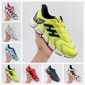Climacool Media suela de los zapatos corrientes de los hombres Primeknit 2020 mujeres del marco malla de soporte TPU Negro Blanco Deportes zapatillas de deporte de diseño de tamaño 36-45