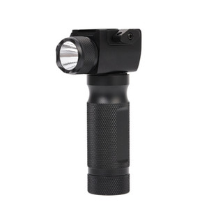 Cheap Tactical Vertical Fore Grip CREE LED Hunting Flashlight with Integrated Red Green Dot Laser Sight For Rifl