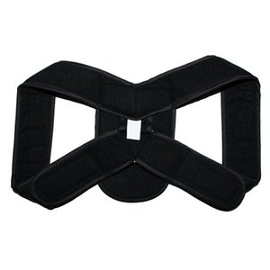 Suporte Brace Prevent Slouching Postura Correção Correção Belt Bandage respirável ajustável Voltar portátil ombro Belt