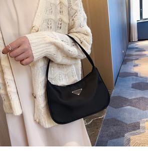 Bayanlar Vintage Naylon Hobos Omuz El Çantası Moda frabic Omuz Hobo Çanta Baget için Şeker Renk Sling Bag