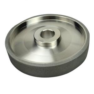 150 Grit CBN Taşlama Tekerlek Elmas Taşlama Tekerlekler Çapı 150mm Yüksek hızlı Çelik Metal taş Taşlama Güç Aracı Için