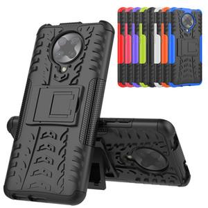 Cassa del telefono per Xiaomi redmi K30 Pro TPU doppio dura della cassa del silicone della copertura del PC redmi K30 Pro antidetonante Combo Back Cover