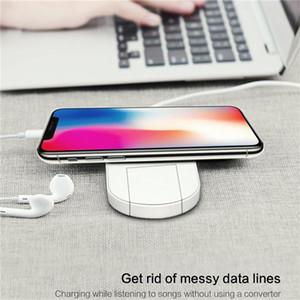 애플 Smartwatch를 아이폰 7.5W 삼성 10W 전화 스마트 시계 2 IN1 제나라 무선 충전기는 빠른 패드와 소매 패키지를 충전