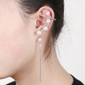Frete grátis misto 20 pcs personalidade das mulheres liga de diamantes brincos de cristal clipes de ouvido pinos de orelha festa dança lolita crânio punk jóias 20