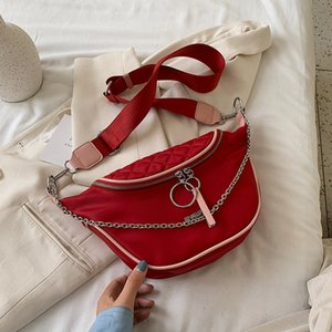Original Design 2020 New Fashion Chain Shoulder Messenger Bag Simple Joker Handbag Chest Bag