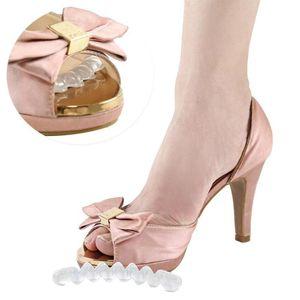 1 Pair Women High Heel Shoe Flip Flop Sandals Non-slip Sticker Self-adhesive Gel Non-slip Foot Patch Anti-wear Silicone Sticker
