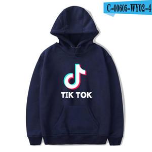 BTS Tik tok software 2019 New Print Hooded Women / Men Popular Clothes Harajuku Casual Hot Sale Felpe con cappuccio 4XL
