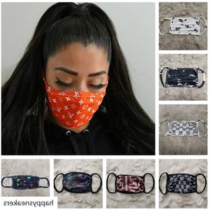 Luxury Designer Anti Dust Ultraviolet-proof Mouth-muffle Men Women Masks Brand Protector Washable Sport Face Mask Best Sale