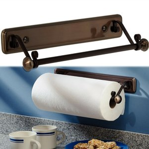New York Series Kitchen Wall-Mount Paper Towel Holder, Bronze Finish