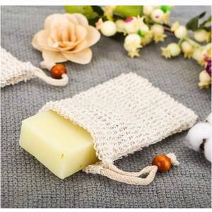 Großhandel Seife Mesh Seife Schäumen Net Bubble Mesh Tasche Haut Bad Bad Pinsel Schwämme Wäscher saubere Werkzeuge