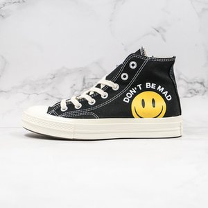 Chinatown Market All Canvas Shoes Chuck 1970s Taylor 70 Men Women Smile Face HAPPY CAMPER designer Casual sport Sneakers 36-44