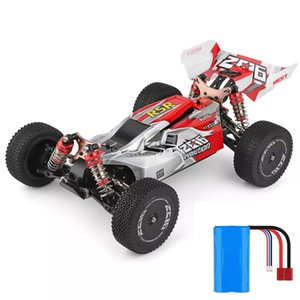 WLtoys 1/14 144001 RTR 2.4GHz RC Car Scale Drift гоночный автомобиль 4WD металла Шасси гидроудара Absober Вездеход Игрушка Y200317