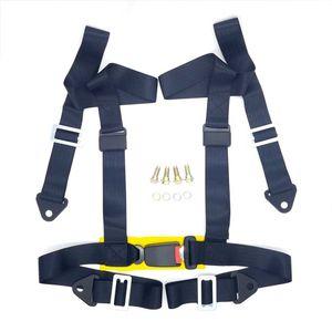 """Universal-Racing Seat Belt Harness 2"""" 4-Punkt-Snap-In-Wettbewerb Sicherheitsgurt Sitztrapez"""