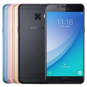 "Yenilenmiş Orijinal Samsung Galaxy C5 Pro C5010 5.2"" Octa Çekirdek 4GB RAM 64GB ROM 16MP Çift SIM 4G LTE Android Cep Telefonu DHL 1PC"