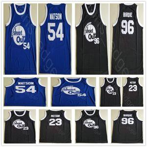 Kyle Watson Duane 54 Motaw Wood Birdmen 23 Birdie Tupac 96 Tournament Shoot Out Basketball Above The Rim Costume Movie Stitched Jerseys