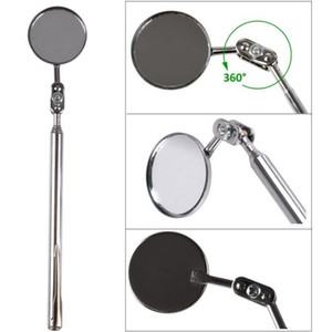 Automotive Telescopic Detection Lens Telescoping Inspection Round Mirror Extending Car Angle View Pen