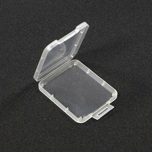 carta di Shatter Contenitore Protection Box Cassa di carta di contenitore della scheda di memoria CF Boxs strumento di plastica trasparente di facile da trasportare il trasporto libero