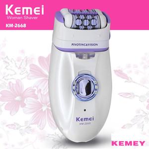 Kemei Новый 2 в бритвы для женщин Уход за 1 Женщины Бритье Шерсть Устройство нож Электробритвы Шерсть Эпилятор Shaving Леди