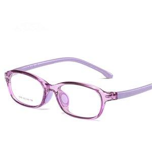 Großhandels-leichte, flexible Brillen Rahmen Kinder Brillen Rahmen Silikon sattel Pflege 1678
