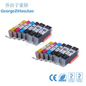 12 ADET 550XL Mürekkep Kartuşları için uyumlu Canon PGI550 CLI551 IP7250 MG5450 MX925 MG5550 IX6850 MX725 MX925 için