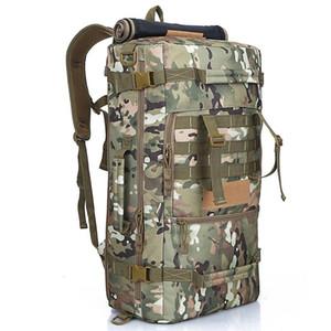 Designer-Multi-function bag 50L outdoor bag high density waterproof Oxford backpack multi-pocket large capacity wholesale outdoor travel bag