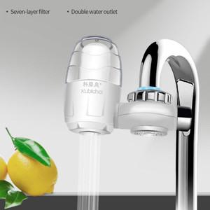 Rubinetto filtro Installazione depuratore d'acqua domestico filtro a carbone acqua domestico filtro ad acqua liscia 7 strati