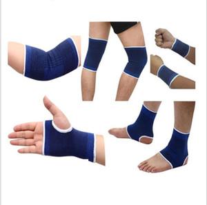 Spor bilekliği ayak bileği bekçi koruyucu seti bilek desteği elle bekçi dirsek pedi ayak bileği desteği dizlik Spor dişli yüksek kaliteli