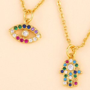Exclusive for items, original design, fashion, oil drop eyes, pendant, clavicle chain, large pendant jewelry, necklace, necklace, wholesale